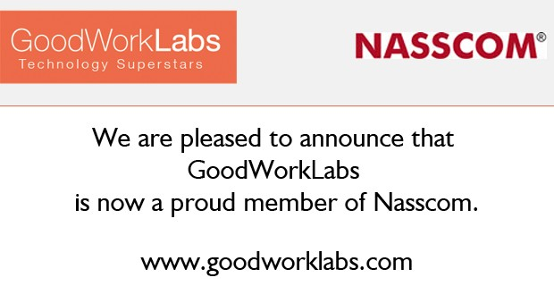 GoodWorkLabs becomes a member of Nasscom