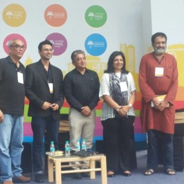 Vishwas Mudagal's session 'Entrepreneurship in India: Building your own blocks' with industry heavyweights