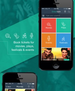 Ticket Booking Mobile App – iPhone and Android App