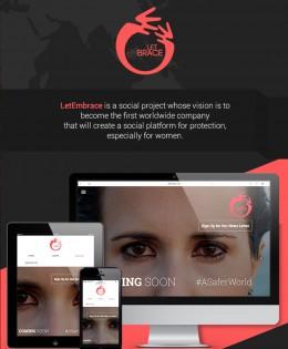 LetEmbrace responsive website & CMS