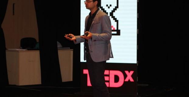 CEO Vishwas Mudagal speaks at TEDx Bangalore