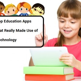 Apps that Leverage Technology to Benefit Education Sector