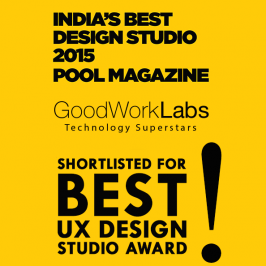 GoodWorkLabs in Best UX Design Studio 2015 Awards by POOL Magazine