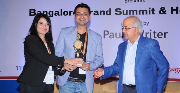 GoodWorkLabs wins Hot 50 Brands of Bangalore Award 2015
