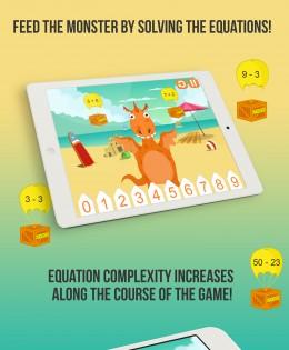 Monster Math Educational Game For Kids