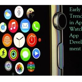 Early Trends in Apple Watch Apps Development