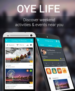 Oye Life! events & activities discovery app