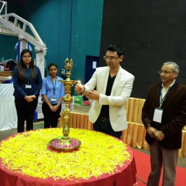 CEO Vishwas Mudagal inaugurates E-Summit 2016 at RV College of Engineering