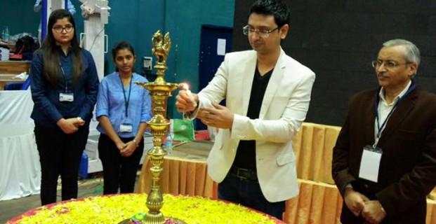 CEO Vishwas Mudagal inaugurates E-Summit 2016 at RV College of Engineering