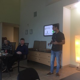 Vishwas Mudagal speaks at 'Lunch And Learn' event in San Francisco Bay Area