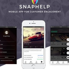 SnapHelp | Mobile app for CRM