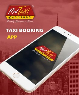 Red Taxi | iOS and Android Mobile App