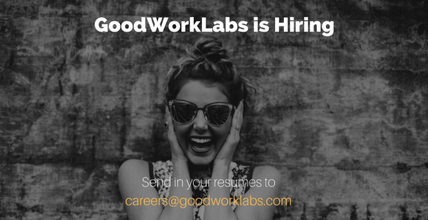 GoodWorkLabs is Hiring| Jobs and Career Opportunities