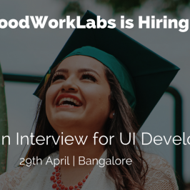 Walk-in Interview for UI Developers