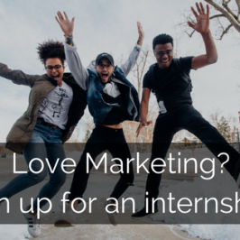 Hiring Now: Marketing Interns!
