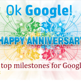Seven Interesting Milestones Of Google