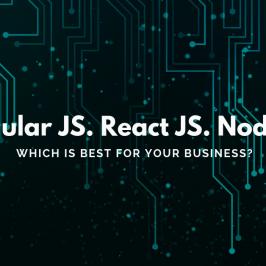 ReactJS vs AngularJS vs NodeJS: Which is the best Javascript framework?