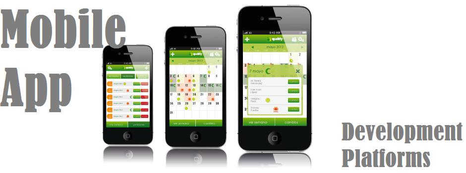 Mobile app development platforms