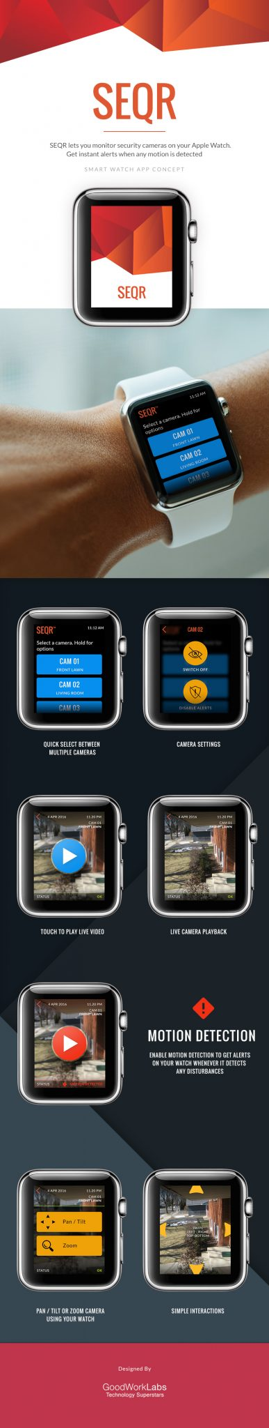 Apple Watch app design and development