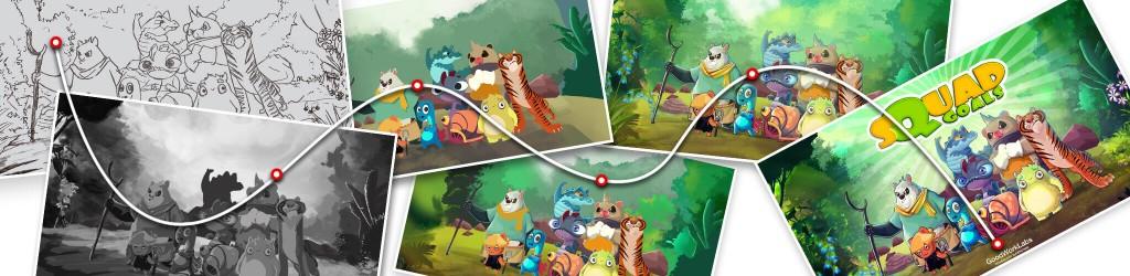 2d game art, 3d game art