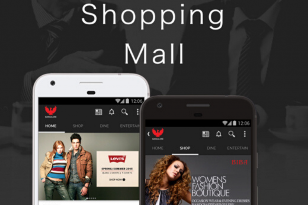 Android Mobile app for Shopping Mall