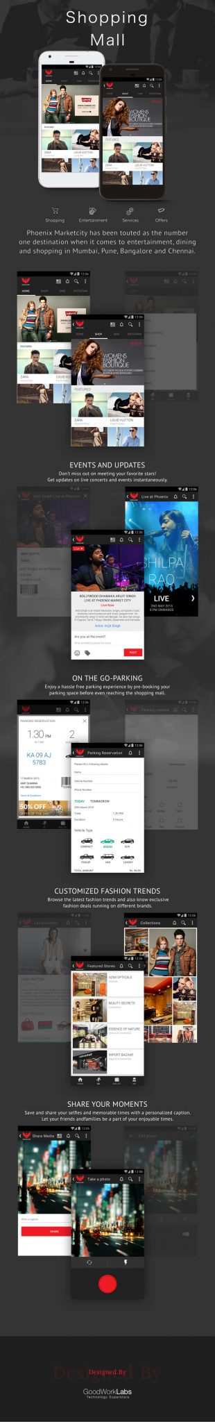mobile app for shopping mall