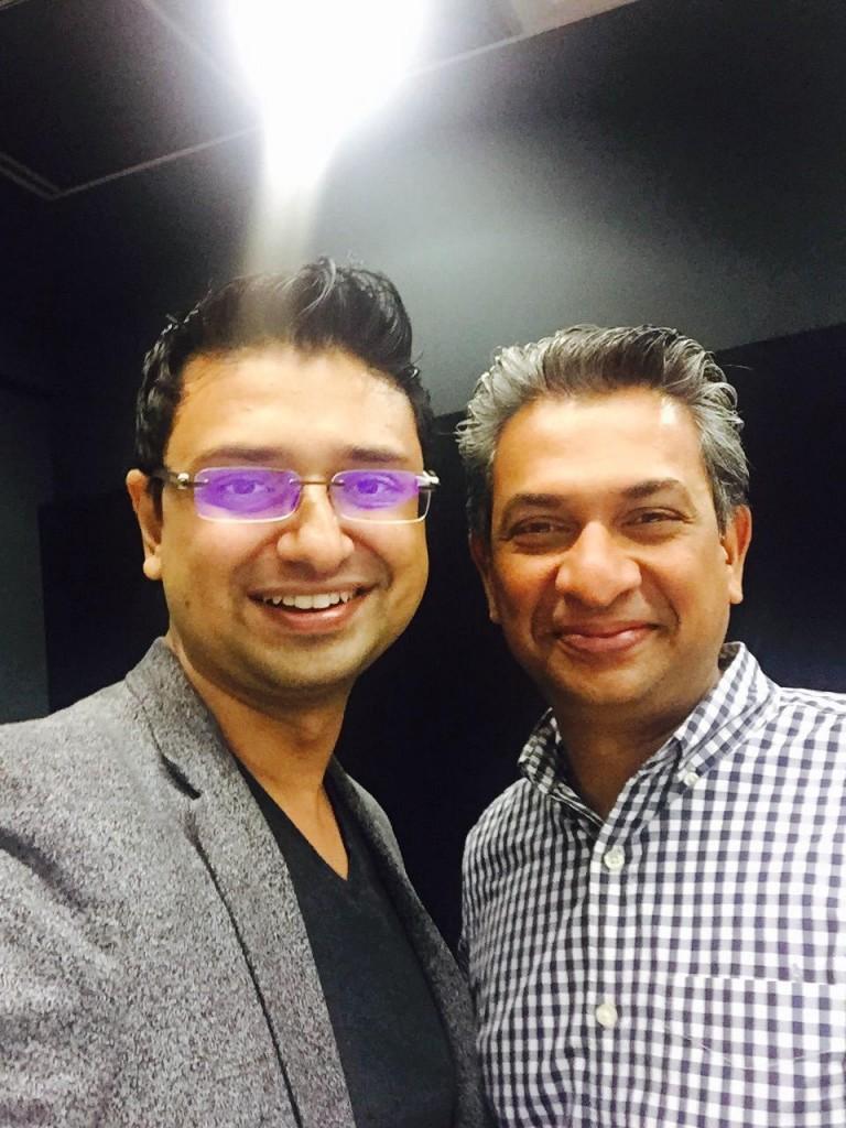Goodworklabs CEO meets Google MD
