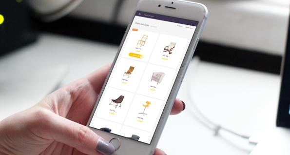 Product catalogue on e-commerce portal