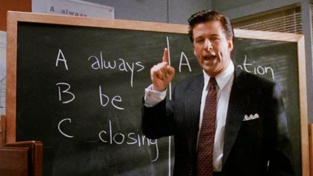 movies for entrepreneurs - Glengary Glen Ross