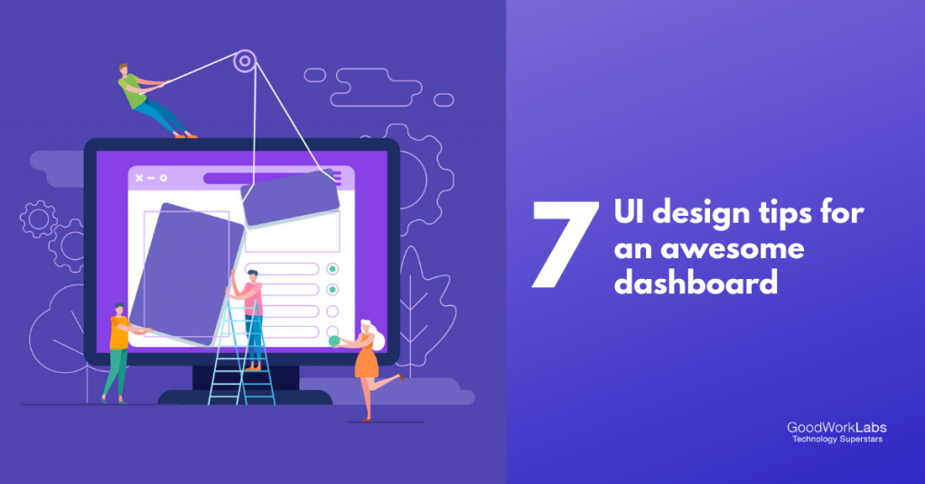 UI Design Tips for awesome dashboard